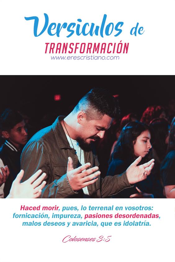 Dios transforma tu vida