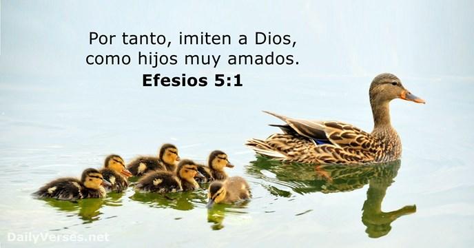 Efesios 5:1