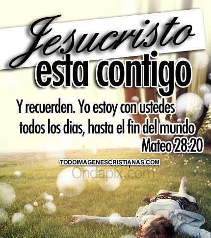 Dios va contigo