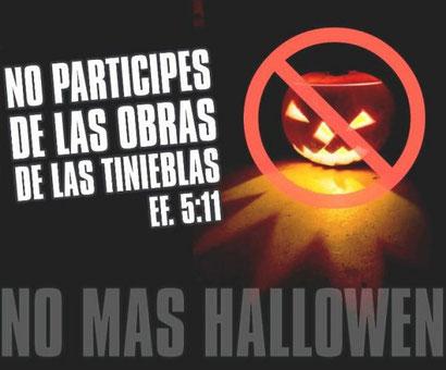 No más Halloween