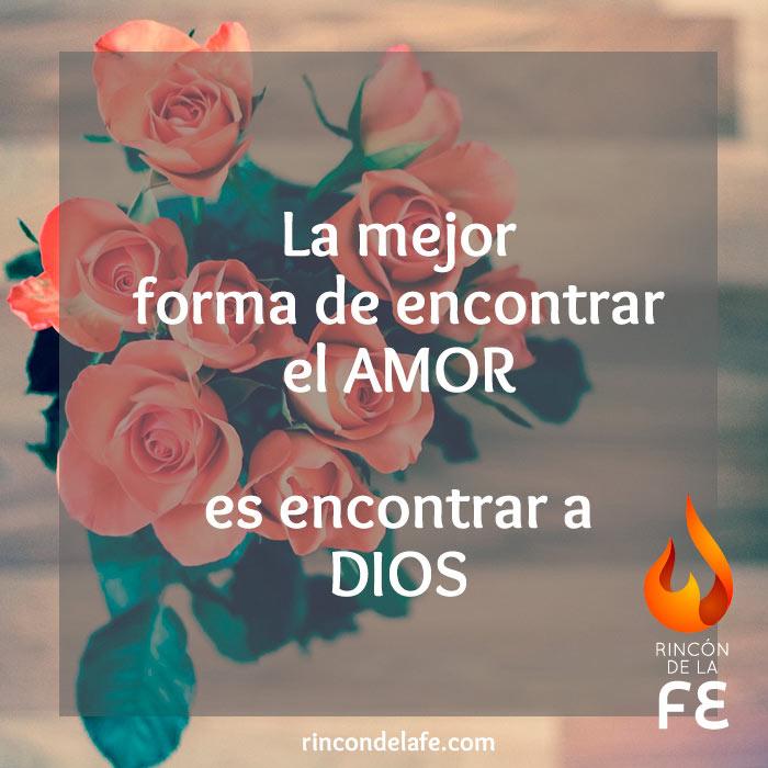 Amor es encontrar a Dios