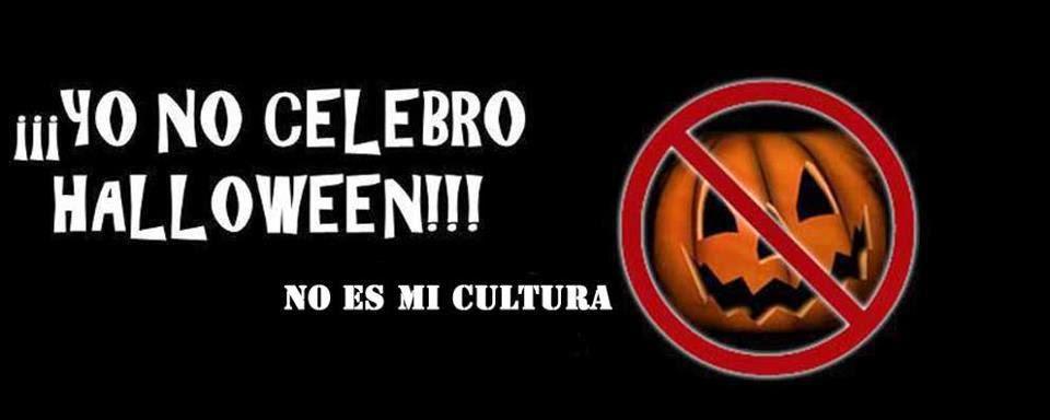 Halloween no es mi cultura