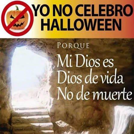 Yo no celebro Halloween