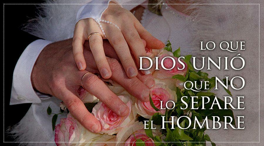 Dios y el matrimonio