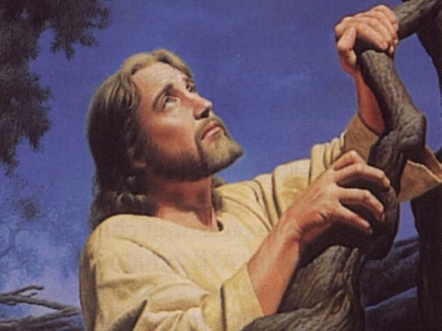 Jesús orando