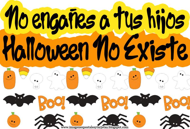 Halloween no existe