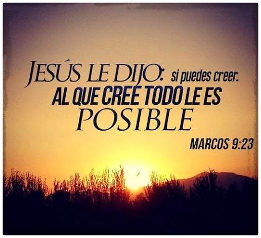 Todo es posible con fe