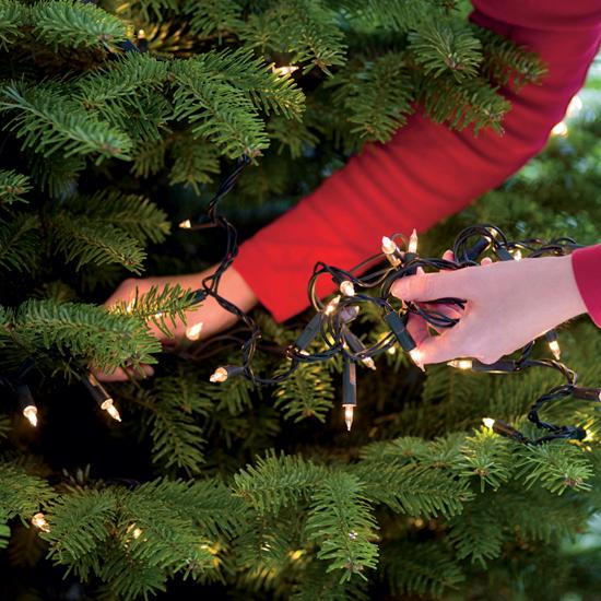 Colocar el árbol de Navidad
