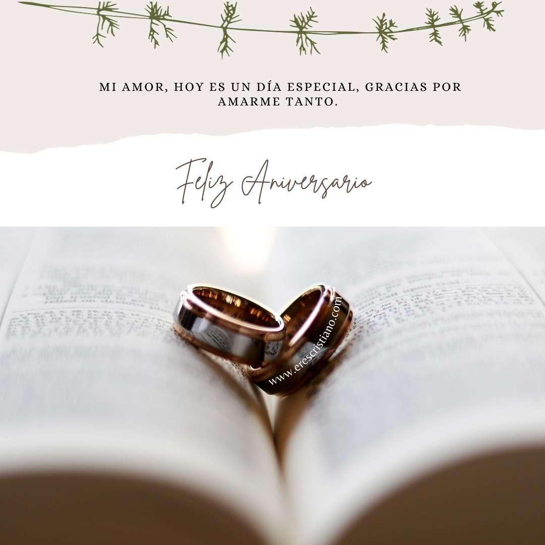 argollas de matrimonio y biblia