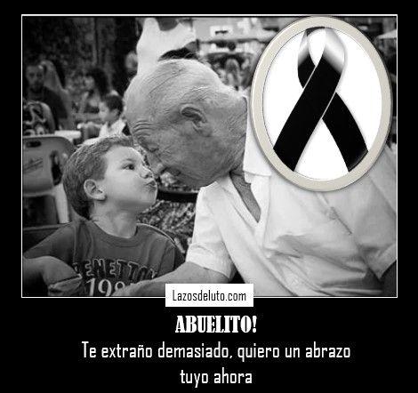 imagen de luto de abuelo
