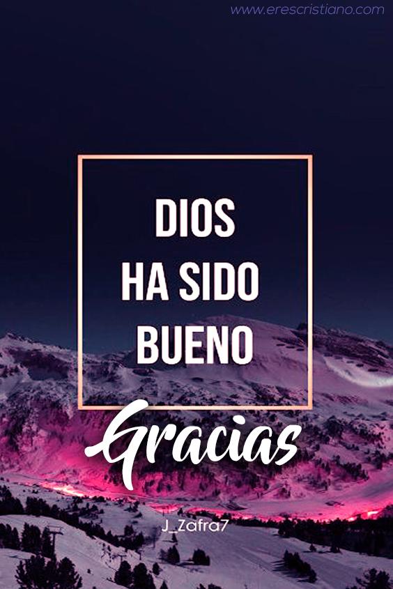 Dios ha sido bueno ¡Gracias!