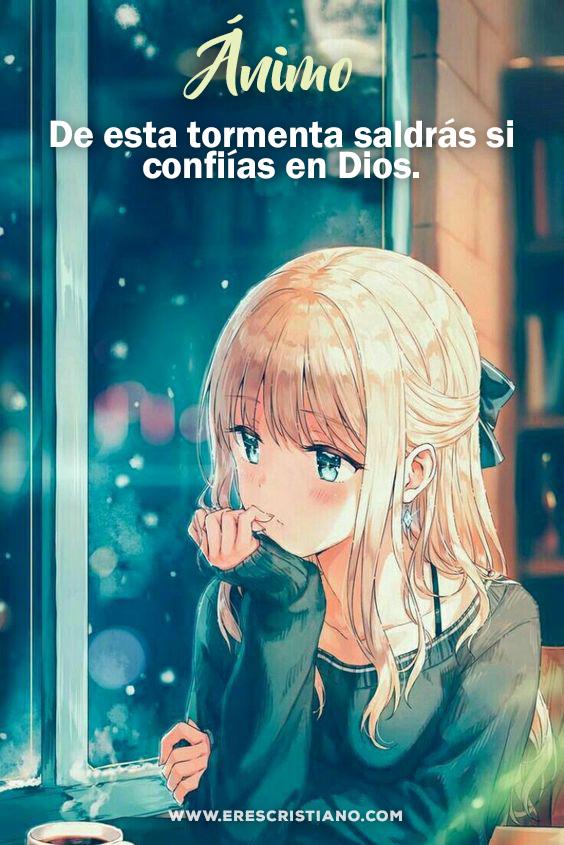 animo Dios está contigo