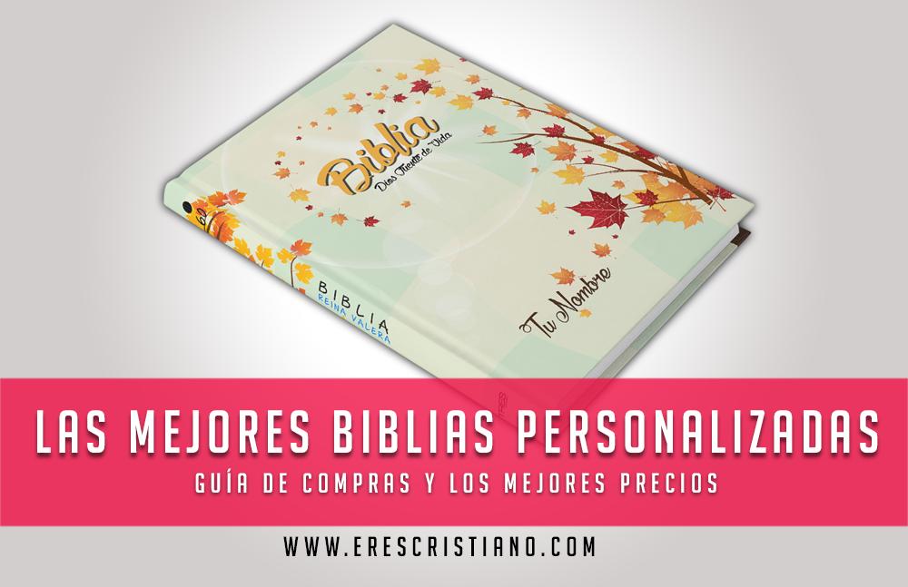 comprar biblia personalizada económica