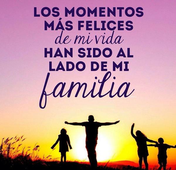 Gracias por mi familia