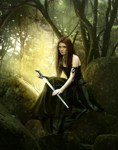 Mujer valiente