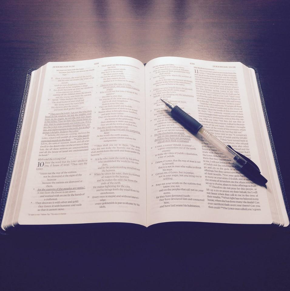 estudiando mi biblia