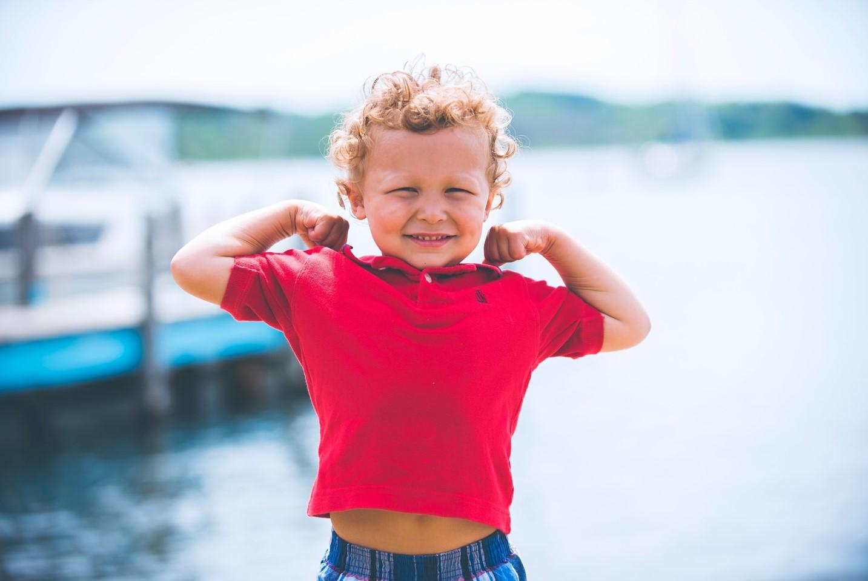 foto de rostro de niño