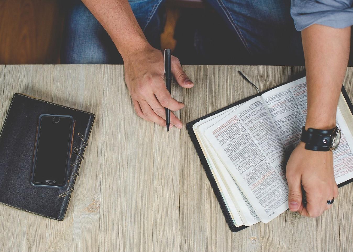 estudio de las Sagradas Escrituras
