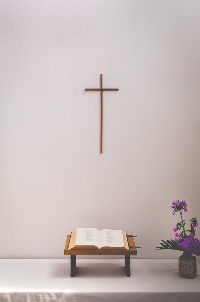 biblia en el santuario