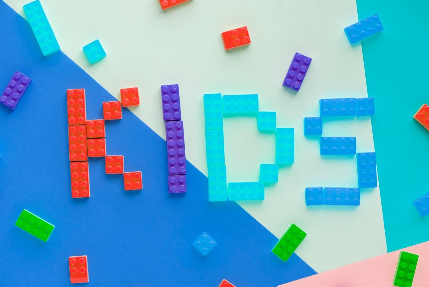 letras con legos