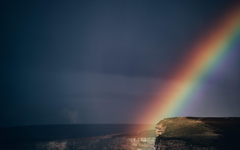 final de arcoíris