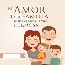 lo mas importante es mi familia