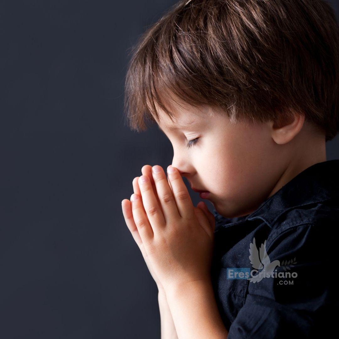 oración para niños asustados