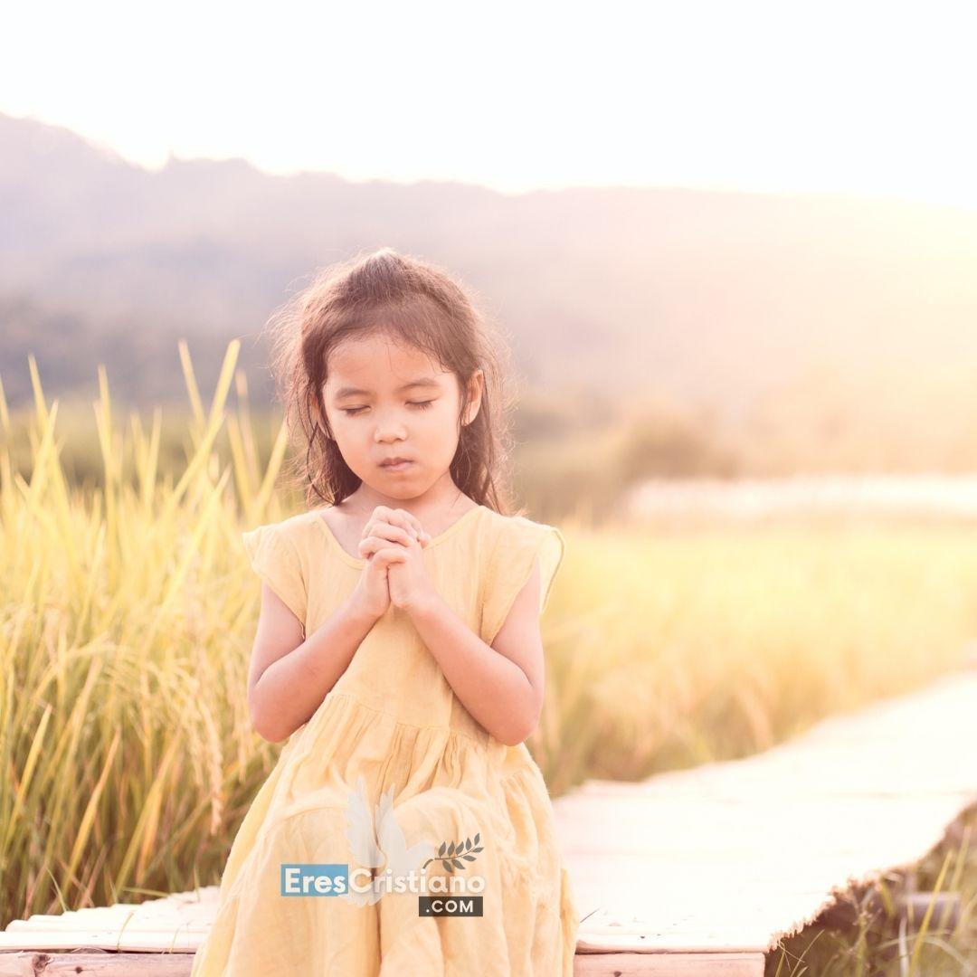 oraciones para niños buenas nuevas