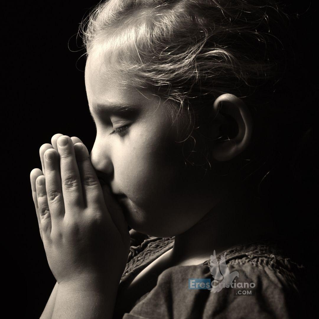 oracion para niños berrinchudos