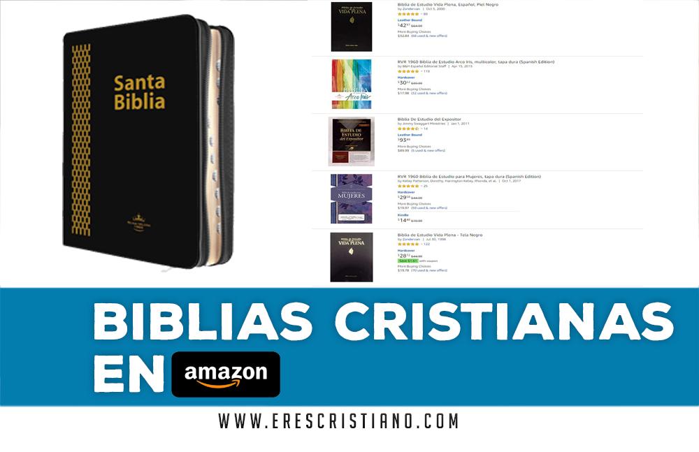 comprar biblia en Amazon economica