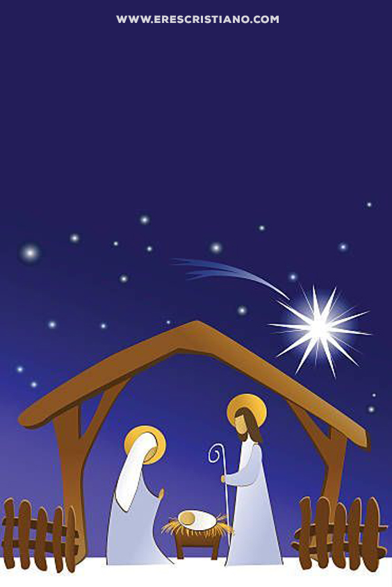 nacimiento de Jesús dibujo