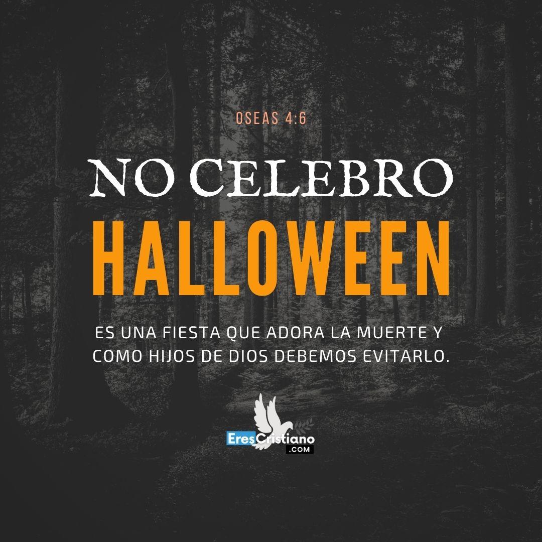 no al halloween imágenes