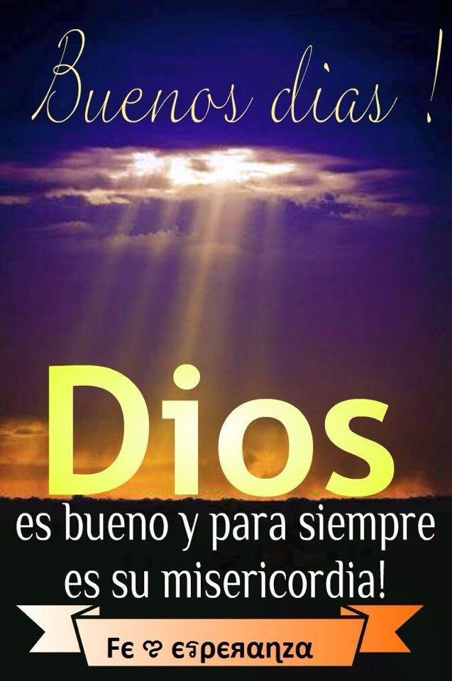 Dios es bueno todos los días