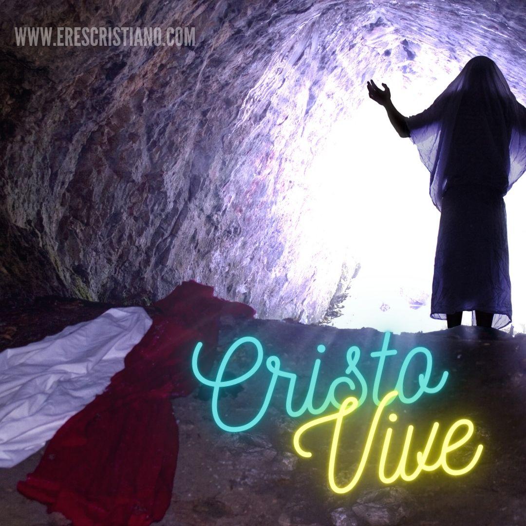 Cristo saliendo de la tumba