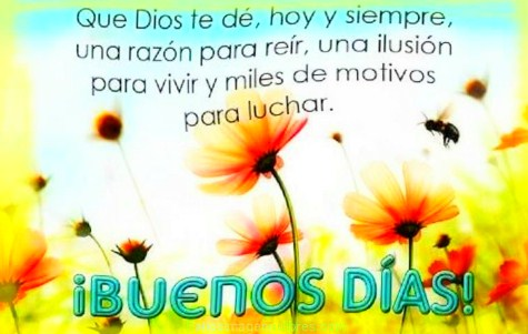 Dios te bendiga siempre