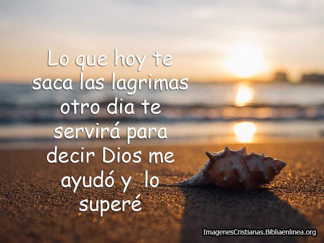Dios te ayudará