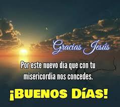 Gracias por un nuevo día Dios