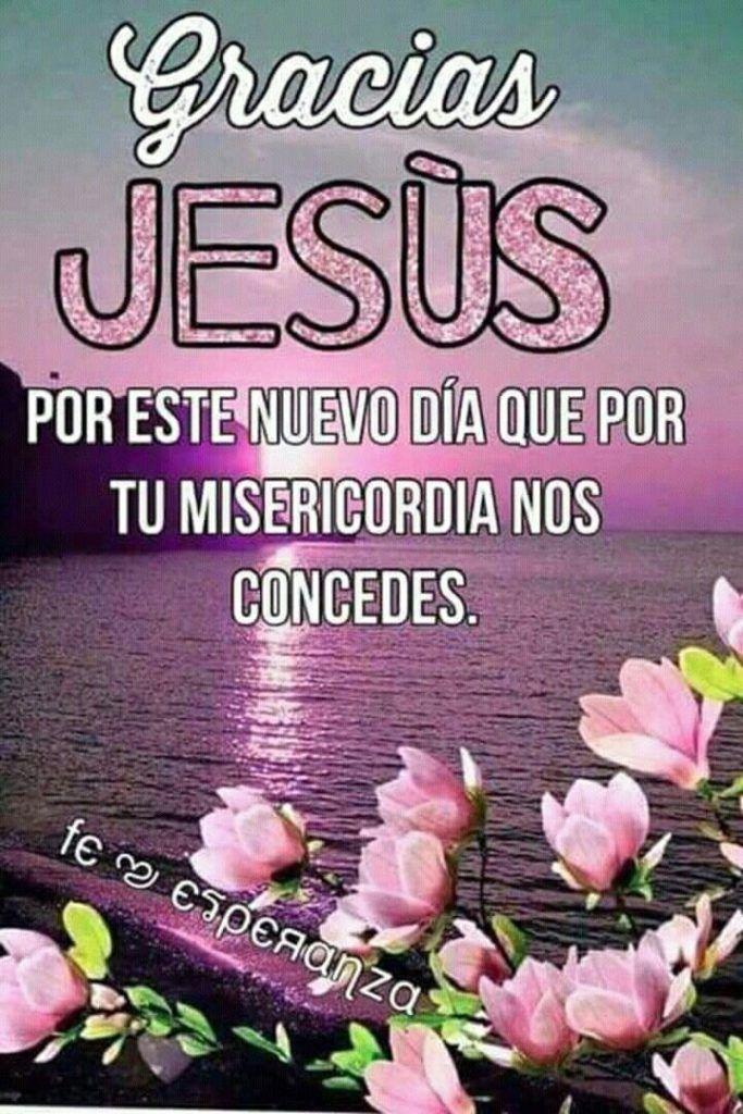 Gracias Jesús por tu fidelidad