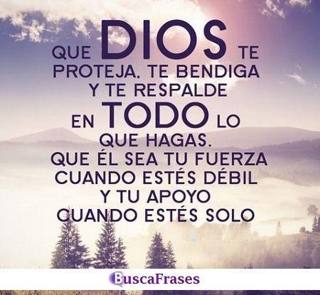 Que Dios guarde de ti