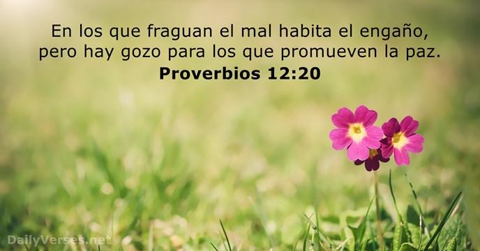 Proverbios 12:20