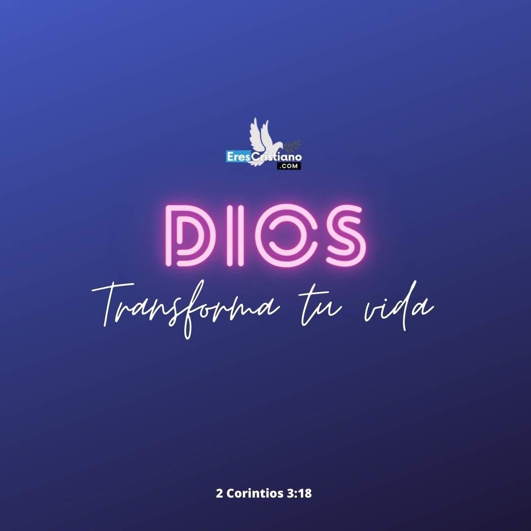 dios transforma vidas
