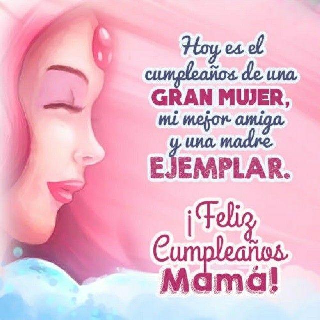 Querida madre, felicidades