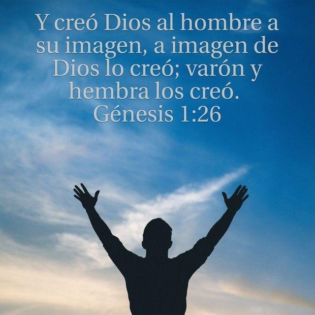 Creo Dios al hombre
