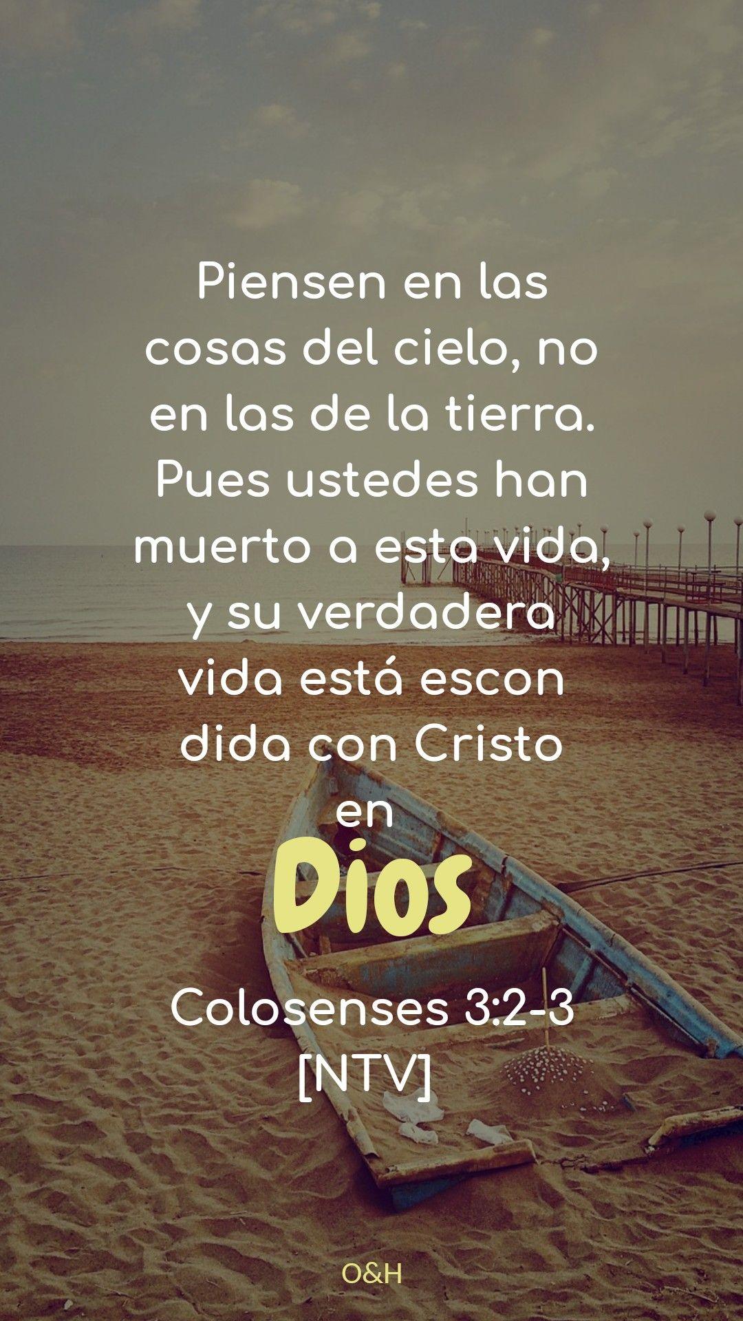 Pon tu vista en Dios