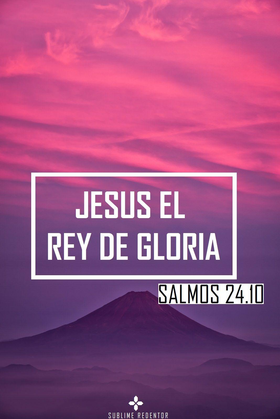 a Jesús la gloria