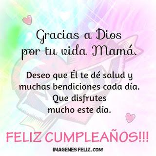 Gracias a Dios por mi mamá