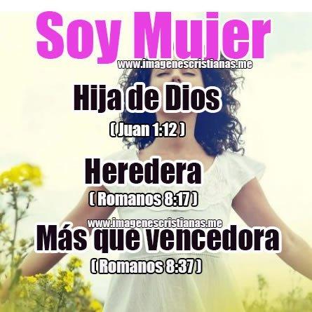 Eres hija de Dios
