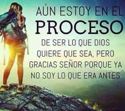 Dios te está formando