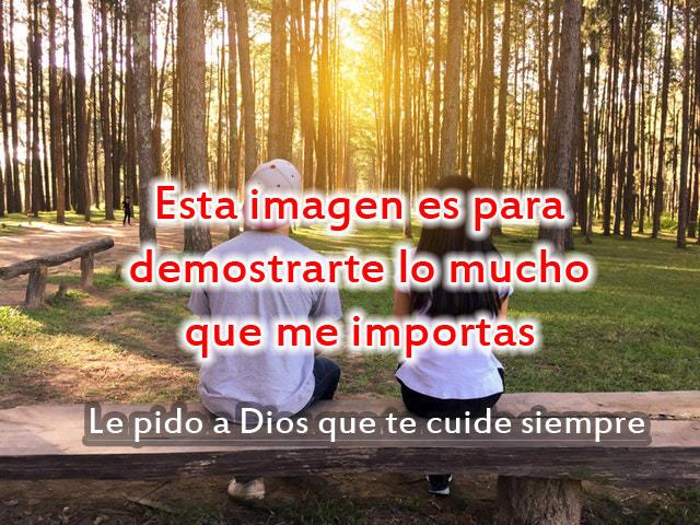 Que Dios te cuide