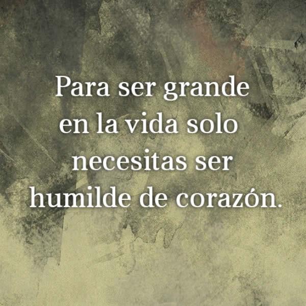 Jesús nos pide humildad